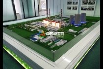 博华电热电厂模型