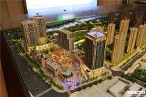 绿地卢浮公馆建筑模型