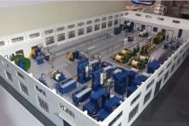 电缆生产线模型