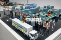 智慧工厂沙盘模型,生产线沙盘模型
