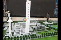 上海三菱电梯厂区沙盘模型