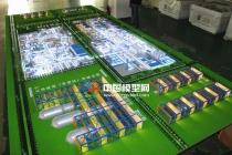 新能源化工厂区沙盘模型