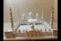 阿布扎比大清真寺模型