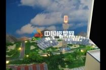 新能源应用场景沙盘模型