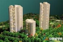重庆中海紫御江山售楼部沙盘模型