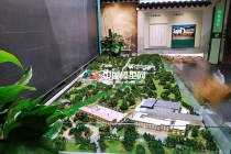 旅游服务中心沙盘模型