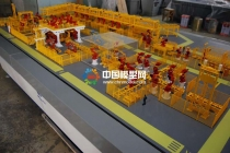 自动化装配线模型