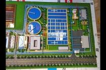 污水处理厂演示沙盘模型