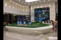 京基御景峰售楼处展示沙盘模型