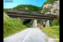 工业机械沙盘模型之车辆轨道交通沙盘模型