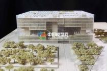 上海浦东图书馆模型