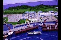 海运重工沙盘模型,海工装备修造模型
