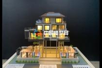 精工细制的别墅沙盘模型