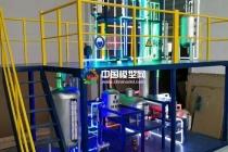 蒸馏塔沙盘模型
